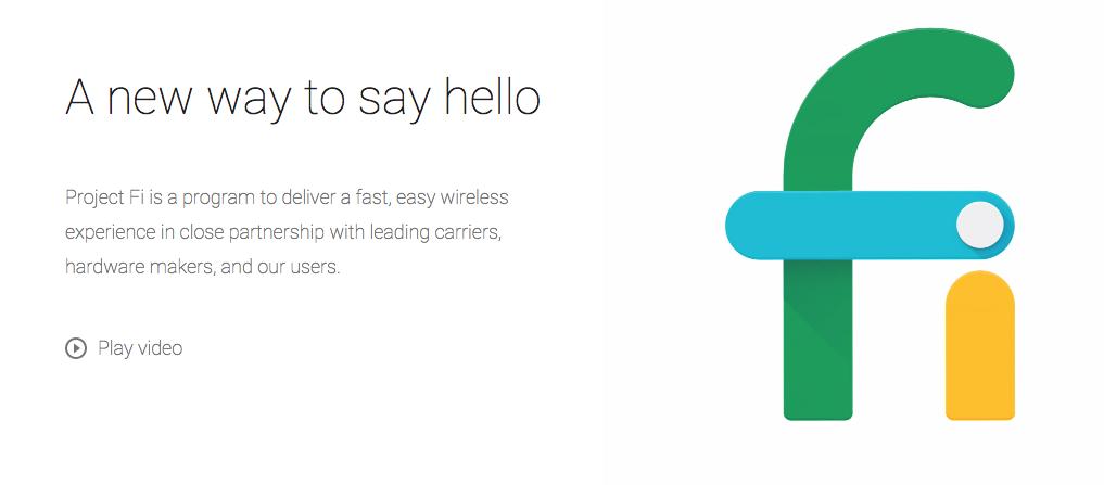 Google's Project Fi