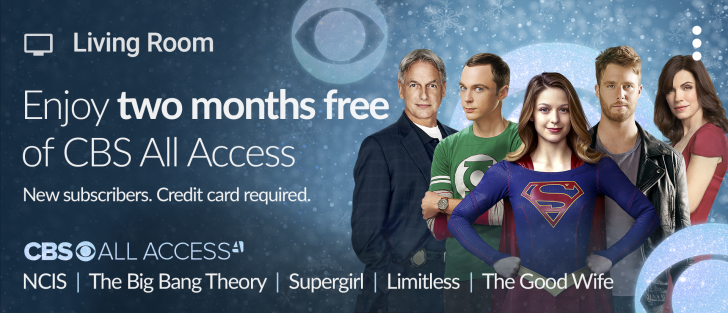 Two Free Months Of CBS All Access Streaming Fir Chromecast Users