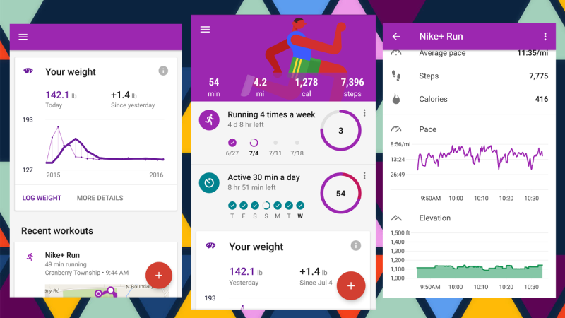 Google Fit Update Brings Weekly Goals and Better Visuals