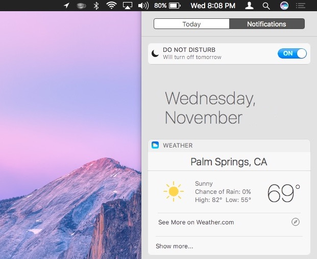 How to Add Siri Results into Notification Center on Mac