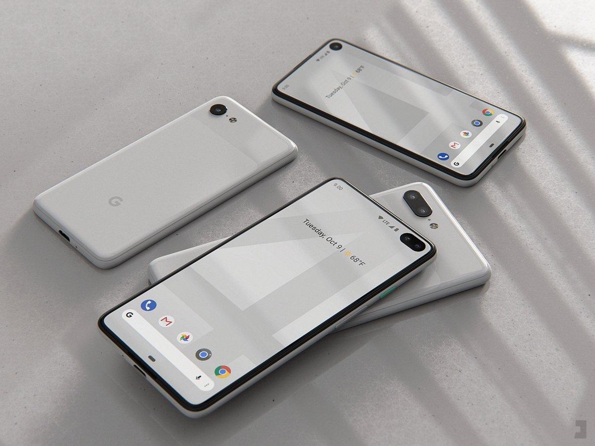 Google Pixel 4 (Artist Rendering)